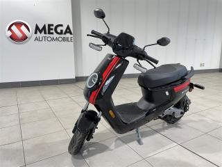 Used 2019 NIU MQi+ SPORT BLACK WITH RED STRIPES for sale in Gatineau, QC