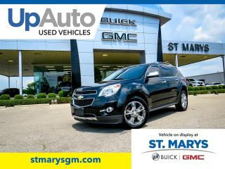 Used 2012 Chevrolet Equinox LTZ AWD for sale in St. Marys, ON