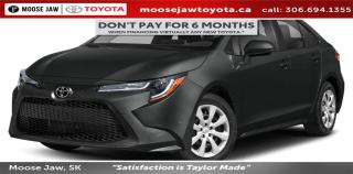 New 2020 Toyota Corolla LE for sale in Moose Jaw, SK