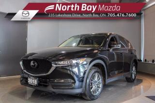 Used 2018 Mazda CX-5 GX AWD with Bluetooth, Cruise, Cloth Interior for sale in North Bay, ON