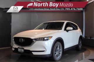 Used 2018 Mazda CX-5 GX AWD with Cloth Seats, Bluetooth, Cruise for sale in North Bay, ON