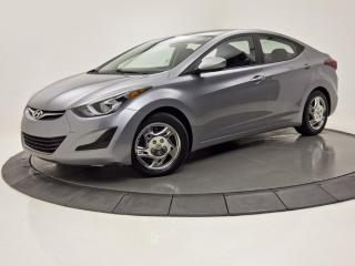 Used 2015 Hyundai Elantra GL SIÈGES CHAUFFANTS BLUETOOTH CRUISE for sale in Brossard, QC