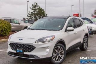 New 2020 Ford Escape Titanium Hybrid for sale in Abbotsford, BC