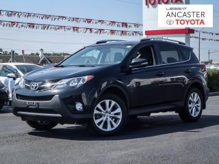 Used 2015 Toyota RAV4 LIMITED  for sale in Ancaster, ON