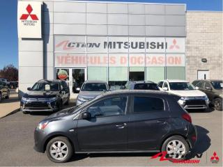 Used 2014 Mitsubishi Mirage SE/MAGS/AIR CLIM/BLUETOOTH/AUX/GROUPE ÉLECTRIQUE for sale in St-Hubert, QC