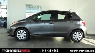 Used 2014 Toyota Yaris LE + A/C + GROUPE ELECTRIQUE! for sale in Trois-Rivières, QC