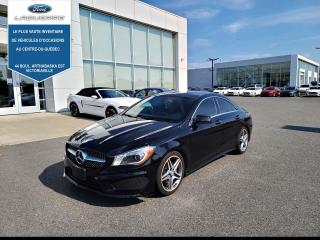 Used 2016 Mercedes-Benz CLA-Class CLA 250 4MATIC CUIR TOIT for sale in Victoriaville, QC