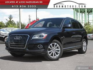 Used 2016 Audi Q5 2.0T Progressiv PROGRESSIV for sale in Stittsville, ON