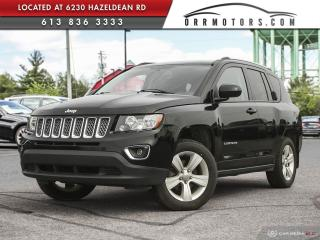 Used 2016 Jeep Compass Sport/North 4X4 | REVERSE CAM | SUNROOF | HEATED LEATHER for sale in Stittsville, ON