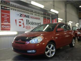 Used 2009 Hyundai Accent ACCENT SPORT TOIT OUVRANT MAG PETIT PRIX for sale in Blainville, QC