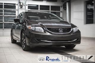 Used 2014 Honda Civic EX chez Rimouski Hyundai for sale in Rimouski, QC