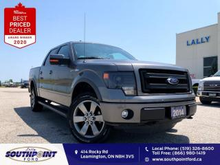 Used 2014 Ford F-150 FX4|Leather|HTD&Cooled seats|Navi|Sunroof|Remote s for sale in Leamington, ON