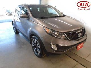 Used 2011 Kia Sportage SX for sale in Owen Sound, ON