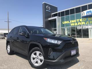 Used 2019 Toyota RAV4 LE AWD with Apple CarPlay for sale in Chatham, ON