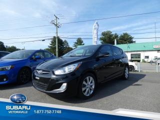 Used 2014 Hyundai Accent Voiture à hayon, 5 portes, boîte manuel for sale in Victoriaville, QC