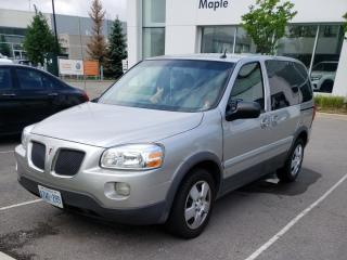 Used 2007 Pontiac Montana 1SA Low KMS, One Owner for sale in Tillsonburg, ON