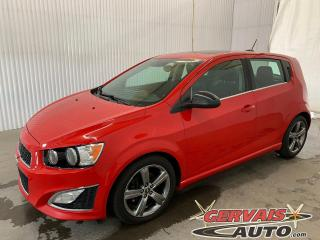 Used 2015 Chevrolet Sonic RS Turbo Cuir Toit ouvrant A/C for sale in Trois-Rivières, QC