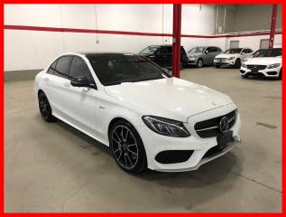 Used 2017 Mercedes-Benz C-Class C43 AMG 4MATIC DISTRONIC AMG DRIVER PERFORMANCE SEATS CARBON TRIM! for sale in Vaughan, ON