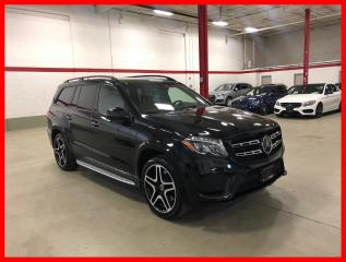 Used 2017 Mercedes-Benz GLS GLS550 4MATIC NIGHT INTELLIGENT DRIVE REAR ENTERTAINMENT for sale in Vaughan, ON