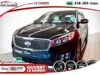 Used 2016 Kia Sorento *SX*AWD*CUIR*7 PLACES * for sale in Québec, QC