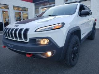 Used 2015 Jeep Cherokee *TRAILHAWK* CUIR*CAMÉRA*SIÈGES/VOLANT CH for sale in Québec, QC