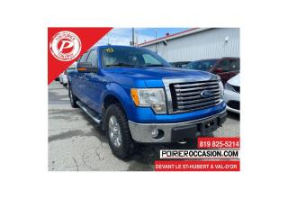 Used 2010 Ford F-150 SuperCrew RÉGULATEUR DE VITESSE for sale in Val-D'or, QC