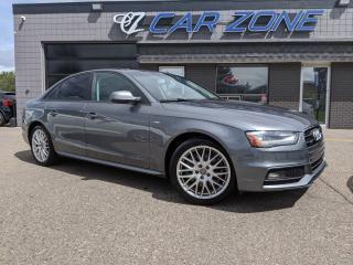 Used 2015 Audi A4 Komfort Plus S Line for sale in Calgary, AB