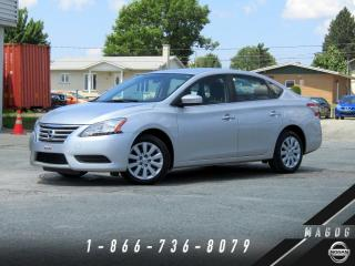 Used 2013 Nissan Sentra SV + CLÉ INTELLIGENTE + BLUETOOTH + CLIM for sale in Magog, QC