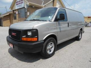 Used 2007 GMC Savana 1500 CARGO 4.3L V6 Divider A/C ONLY 88,000Km for sale in Etobicoke, ON