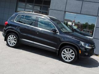Used 2012 Volkswagen Tiguan 4 MOTION|PANOROOF|LEATHER|ALLOYS for sale in Toronto, ON