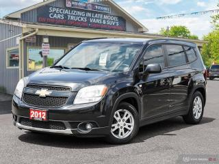 Used 2012 Chevrolet Orlando 1LT,7 PASSENGER,HEATED SEATS,BLETOOTH,USB PORT for sale in Orillia, ON