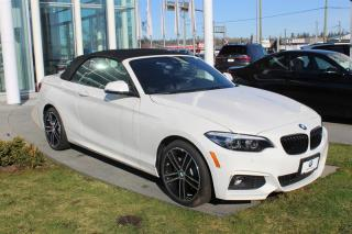 Used 2020 BMW 2 Series xDrive Cabriolet for sale in Langley, BC