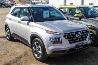 Used 2020 Hyundai Venue FWD Ultimate w/ Black Interior for sale in Sarnia, ON