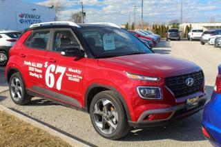 Used 2020 Hyundai Venue FWD Trend w/ Urban PKG- Black Interior for sale in Sarnia, ON