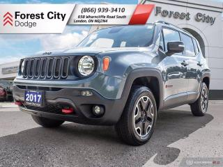 Used 2017 Jeep Renegade Trailhawk for sale in London, ON