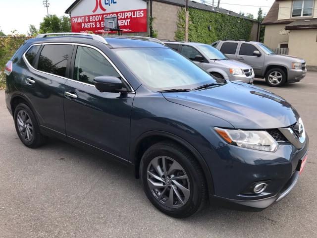 2016 Nissan Rogue SL ** AWD, 360 CAM, NAV, ADAPT CRUISE, BLINDSPOT WARN **