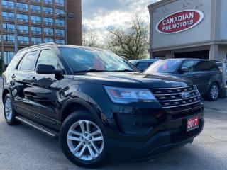 Used 2017 Ford Explorer CLEAN CARFAX   7 PASS   BACK UP CAM   BLUE TOOTH for sale in Scarborough, ON