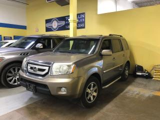 Used 2009 Honda Pilot Touring, Fully Loaded, Navi, Leather, Roof for sale in Vaughan, ON