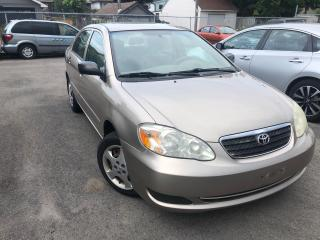 Used 2006 Toyota Corolla CE, Plus for sale in St Catharines, ON