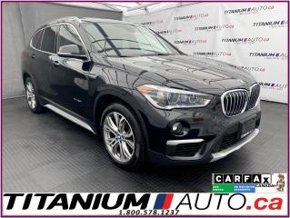 Used 2016 BMW X1 GPS+Camera+Pano Roof+HUD+Mocha Dakota Leather+LED+ for sale in London, ON