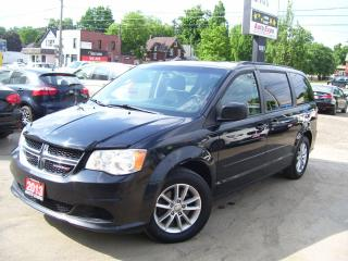 Used 2013 Dodge Grand Caravan SXT,BLUETOOTH,CLEAN CAR FAX,ALLOYS,STOW&GO,TINTED for sale in Kitchener, ON