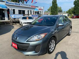 Used 2012 Mazda MAZDA3 GX-LOW KMS for sale in Stoney Creek, ON