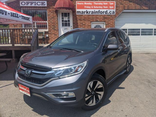 2016 Honda CR-V Touring AWD Lthr Sunroof Nav Back Up Cam Side Cam