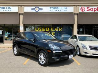 Used 2017 Porsche Cayenne Clean CarFax for sale in Vaughan, ON