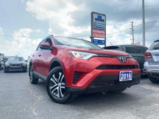 Used 2016 Toyota RAV4 LE AIR CONDITION NO ACCIDENTS CARFAX CLEAN for sale in Brampton, ON
