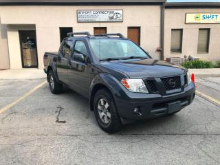 Used 2012 Nissan Frontier 4WD Crew Cab SWB Auto PRO-4X,BLUETOOTH,WARRANTY !! for sale in Burlington, ON