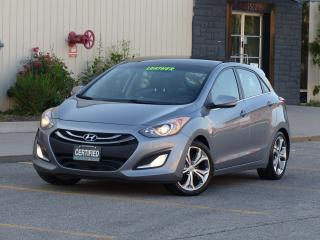 Used 2013 Hyundai Elantra GT LTD,LEATHER,PANORAMIC ROOF,FULL OPTION,NO-ACCIDENT for sale in Mississauga, ON