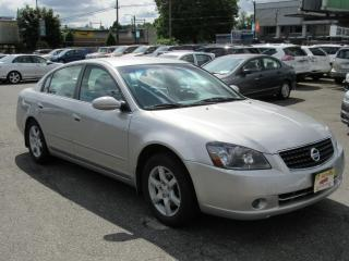 Used 2005 Nissan Altima 2.5 S for sale in Vancouver, BC