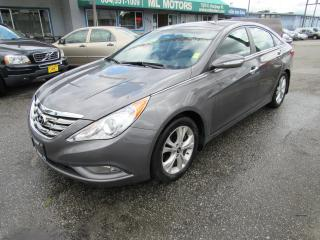 Used 2011 Hyundai Sonata Limited w/Nav for sale in Vancouver, BC