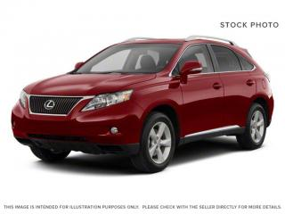 Used 2010 Lexus RX 350 TOURING PACKAGE for sale in Edmonton, AB
